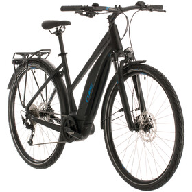Cube Touring Hybrid One 400 Trapez, black'n'blue